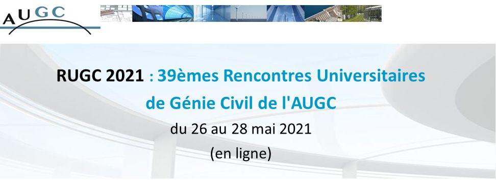 rencontres universitaires de génie civil 2021